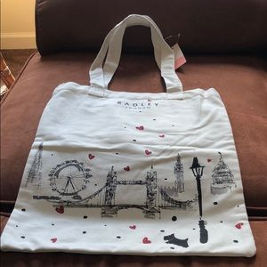 Radley London Love Canvas Tote
